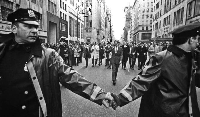 Harry Benson, Robert F. Kennedy, St. Patrick's Day Parade, NYC