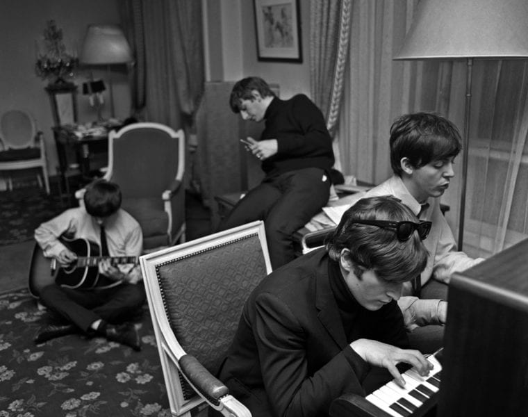 Harry Benson, Beatles Composing #1, Paris