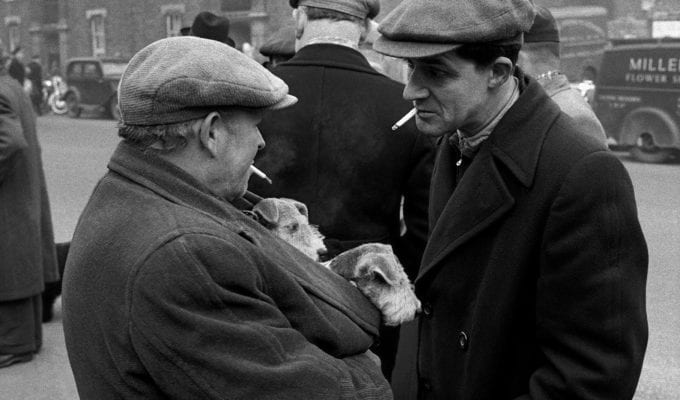 Frank Horvat, London Dog Market, C