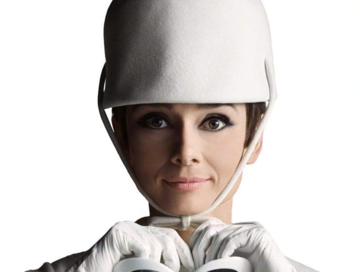 Douglas Kirkland, Audrey Hepburn with Hat