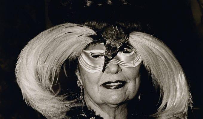 Diane Arbus, Woman In A Bird Mask N Y C