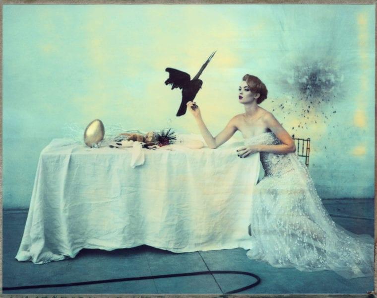 Cathleen Naundorf, The Last Sitting III, Elie Saab. Grand Palais, Paris