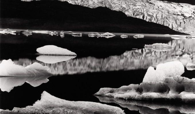 Brett Weston, Mendenhall Glacier, Alaska