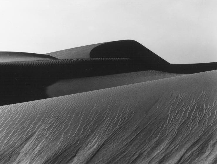 Brett Weston, Dune, Oceano