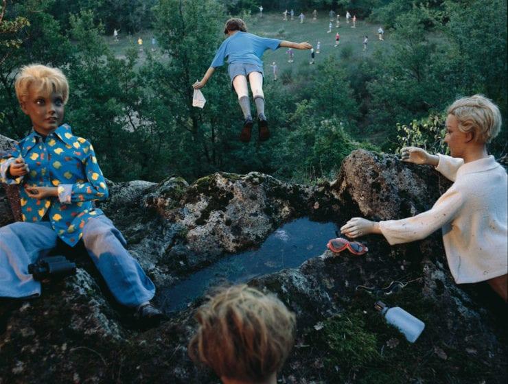 Bernard Faucon, L'Enfant Qui Vole, Les Grandes Vacances