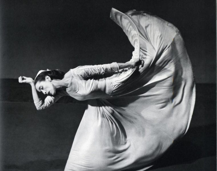 Barbara Morgan, Martha Graham - Letter to the World, Kick