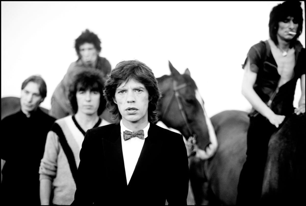 Arthur Elgort The Rolling Stones