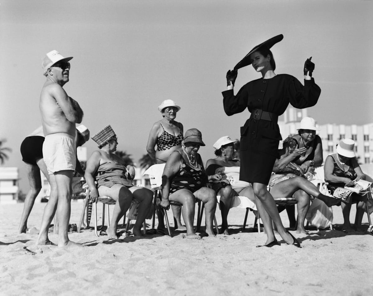 Arthur Elgort, Isabelle Townsend, Miami Beach, French Vogue