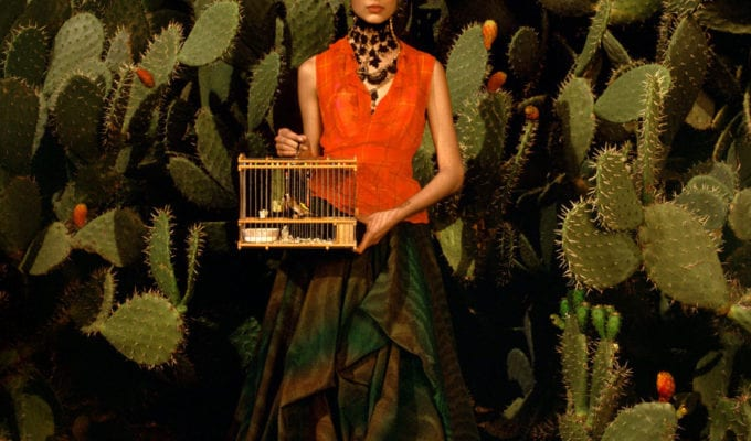"""Albert Watson, Frida Kahlo Story, """"Birdcage."""" Marrakech, Morocco, 1998"""