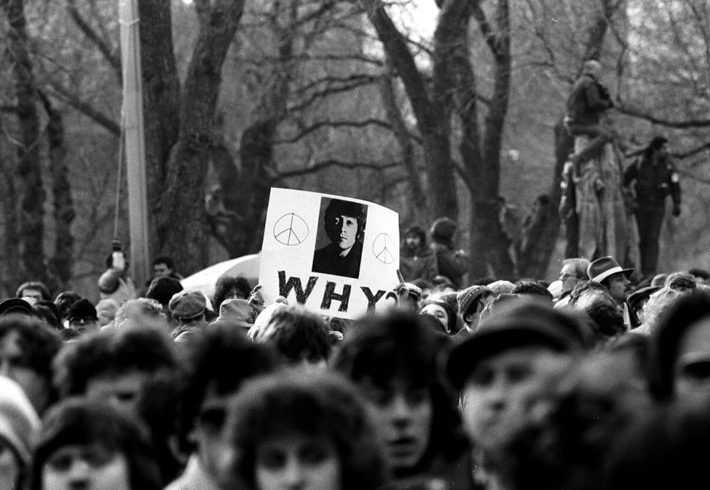 Harry Benson, John Lennon, Why