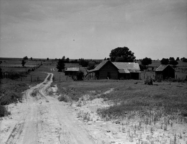 Dorothea Lange, Abandoned Farm