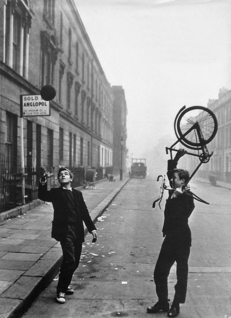 Roger Mayne, Two Boys, Portland Road, North Kensington, London