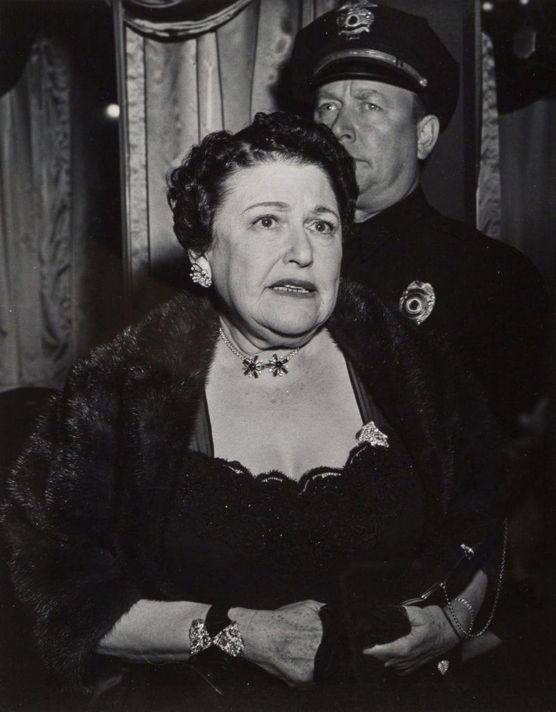 Weegee, Louella Parsons