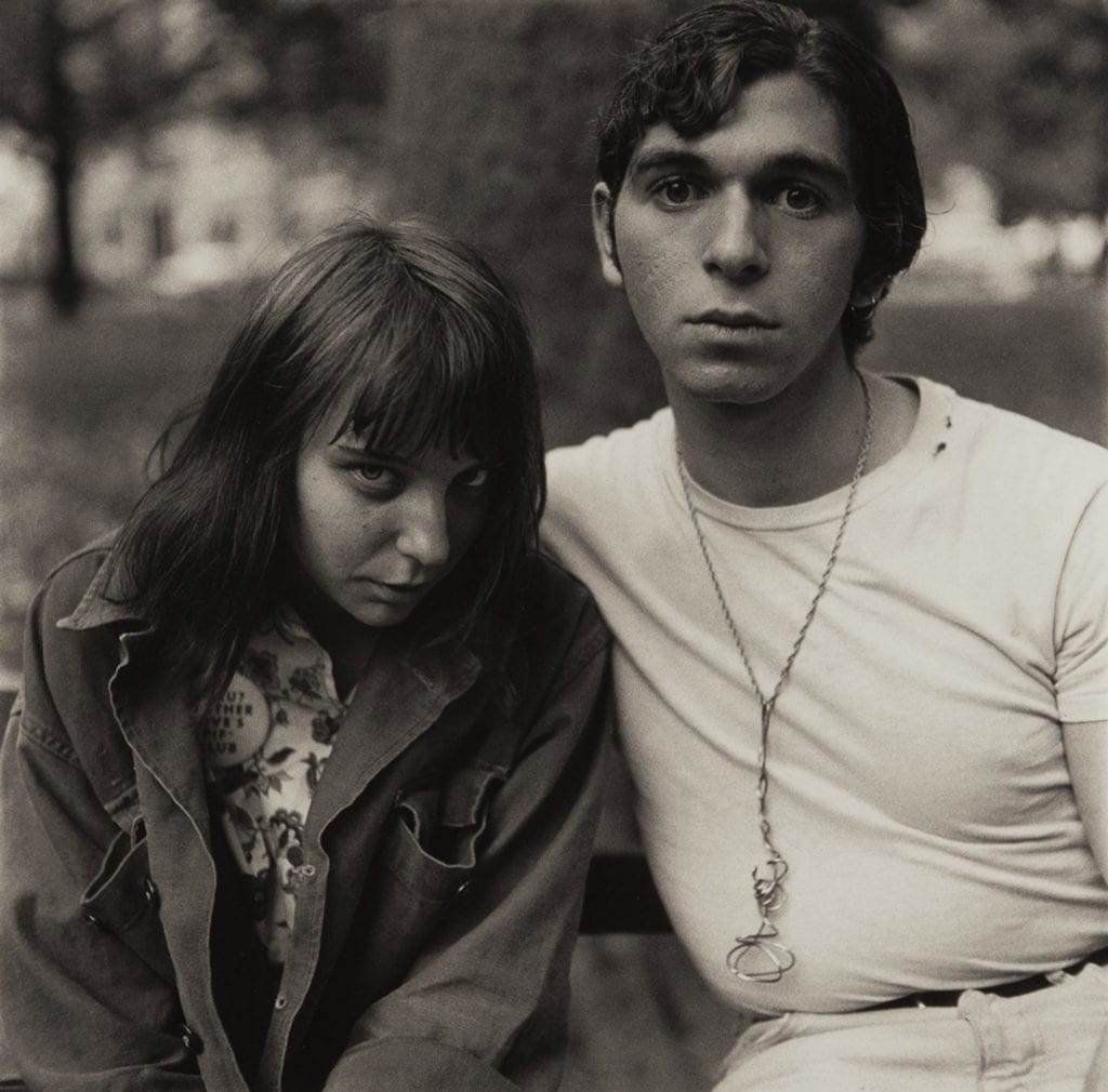 Diane Arbus, Young Couple In Washington