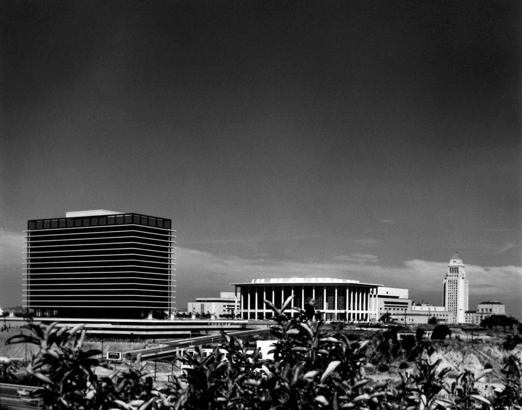 Julius Shulman Water District Building, Downtown LA