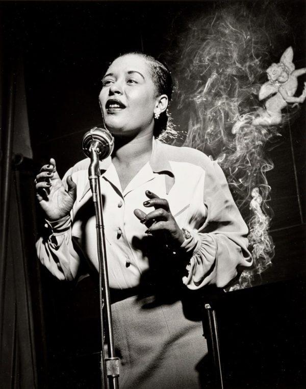 Herman Leonard, Billie Holiday, New York City