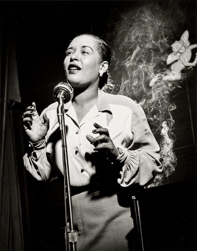 Herman Leonard, Billie Holiday, New York City