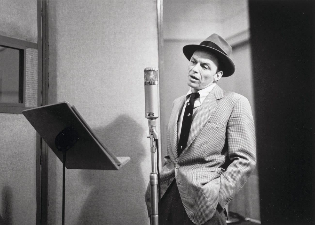 Herman Leonard, Frank Sinatra, New York City