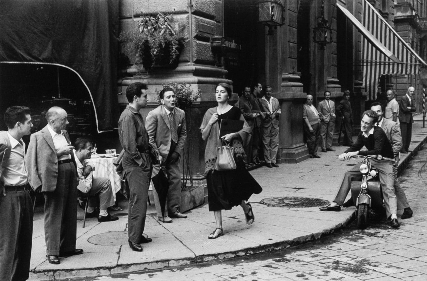 Ruth Orkin, An American Girl in Italy, Florence