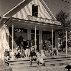 Berenice Abbott, Calais, Maine - country store on Rte. 1 near Calais
