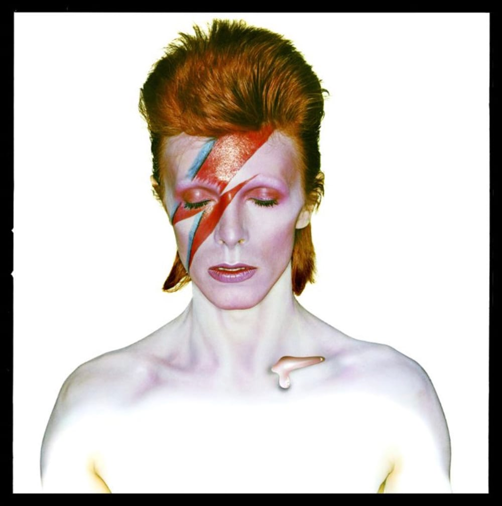 Brian Duffy, David Bowie as Aladdin Sane