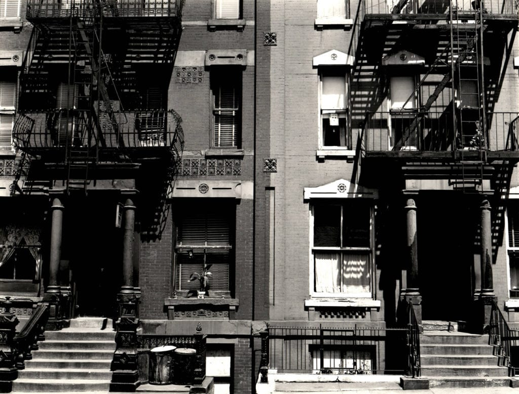 Brett Weston, Buildings, New York