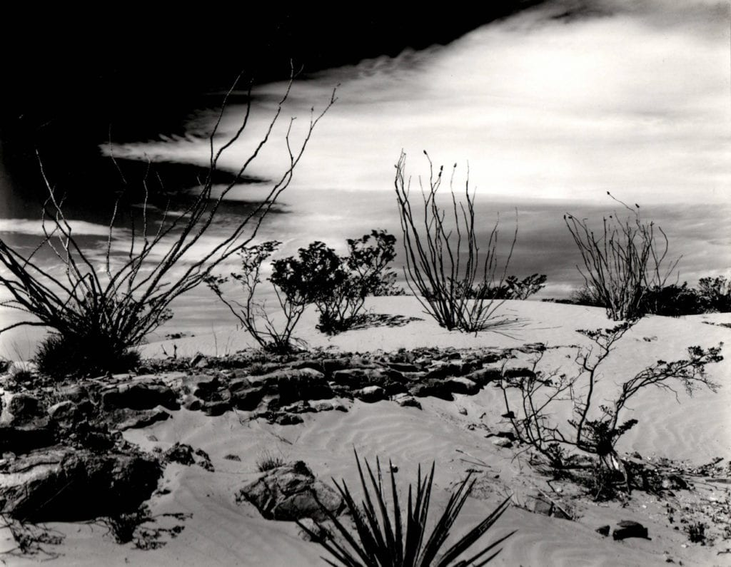 Brett Weston, Dune and White Sands