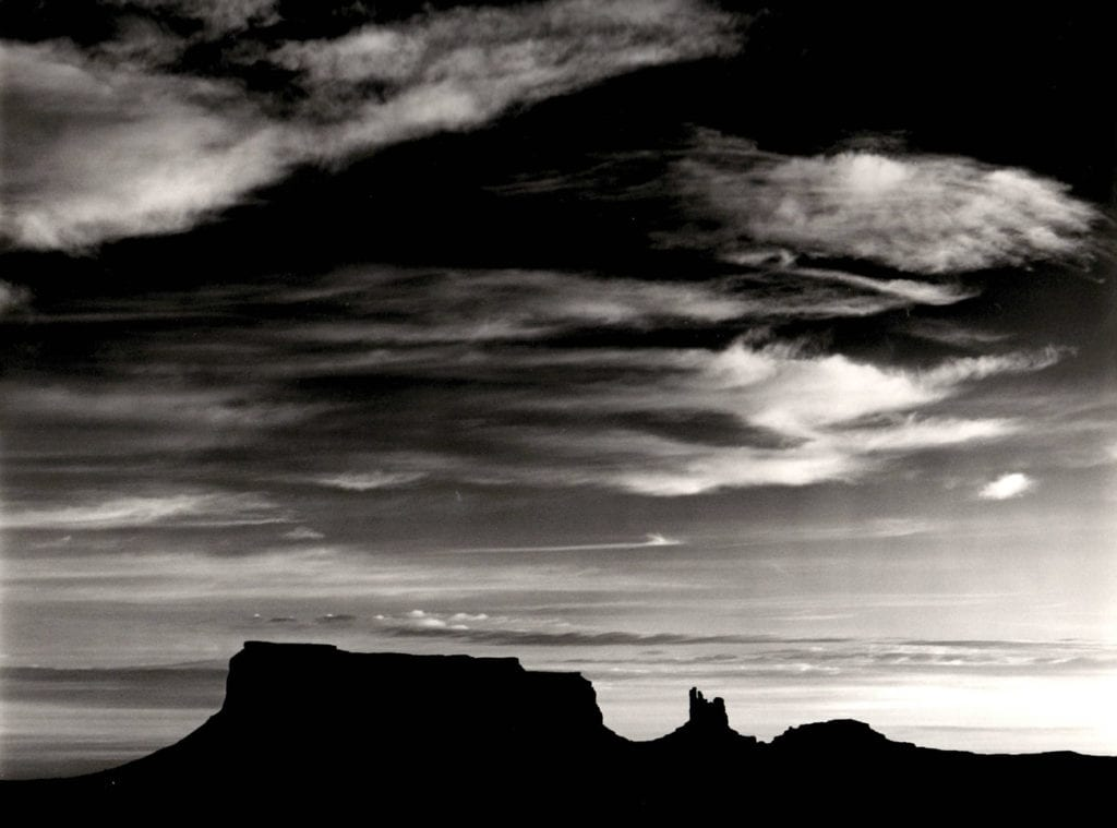 Brett Weston, Monument Valley