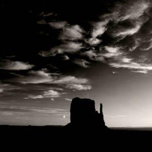 Brett Weston, Rock Formation, Monument Valley