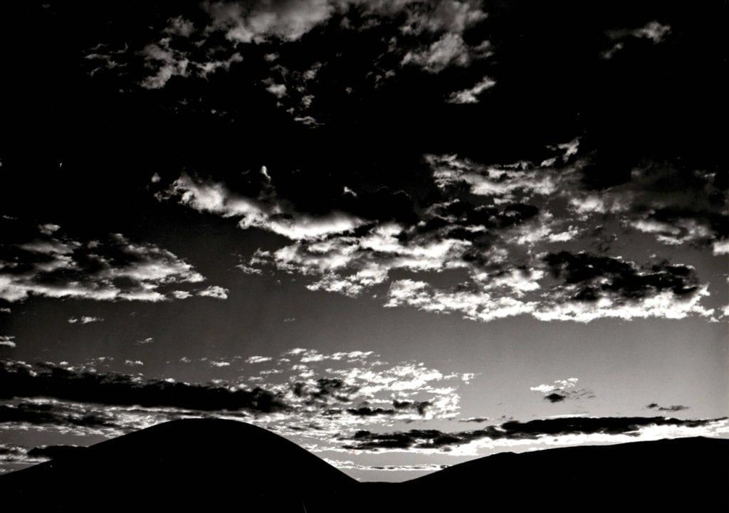 Brett Weston, Landscape and Clouds, Hawaii