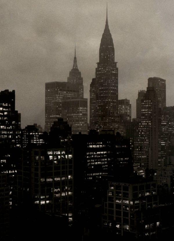 F.B. Grunzweig, New York At Night Midtown