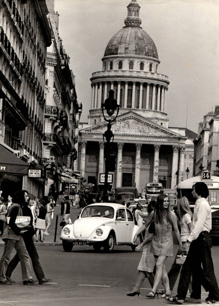 Robert Doisneau, Pantheon Rue Soufflot, Paris