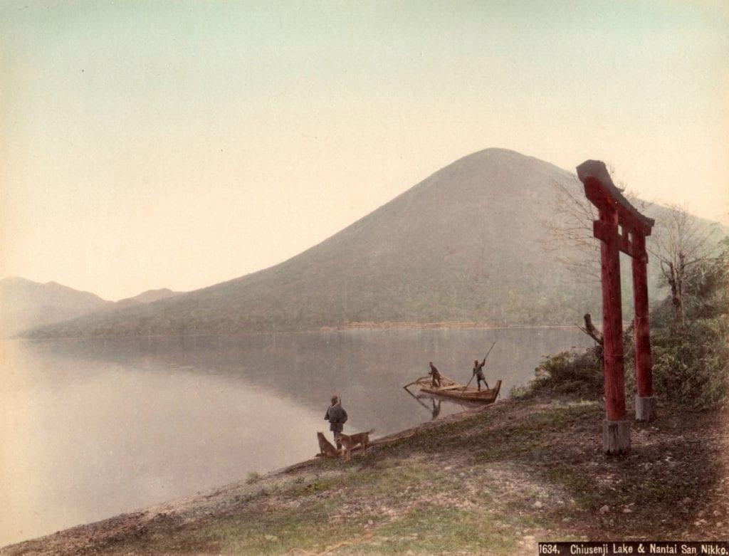 Studio of Felice Beato, Chiusenji Lake & Nantai San Nikko