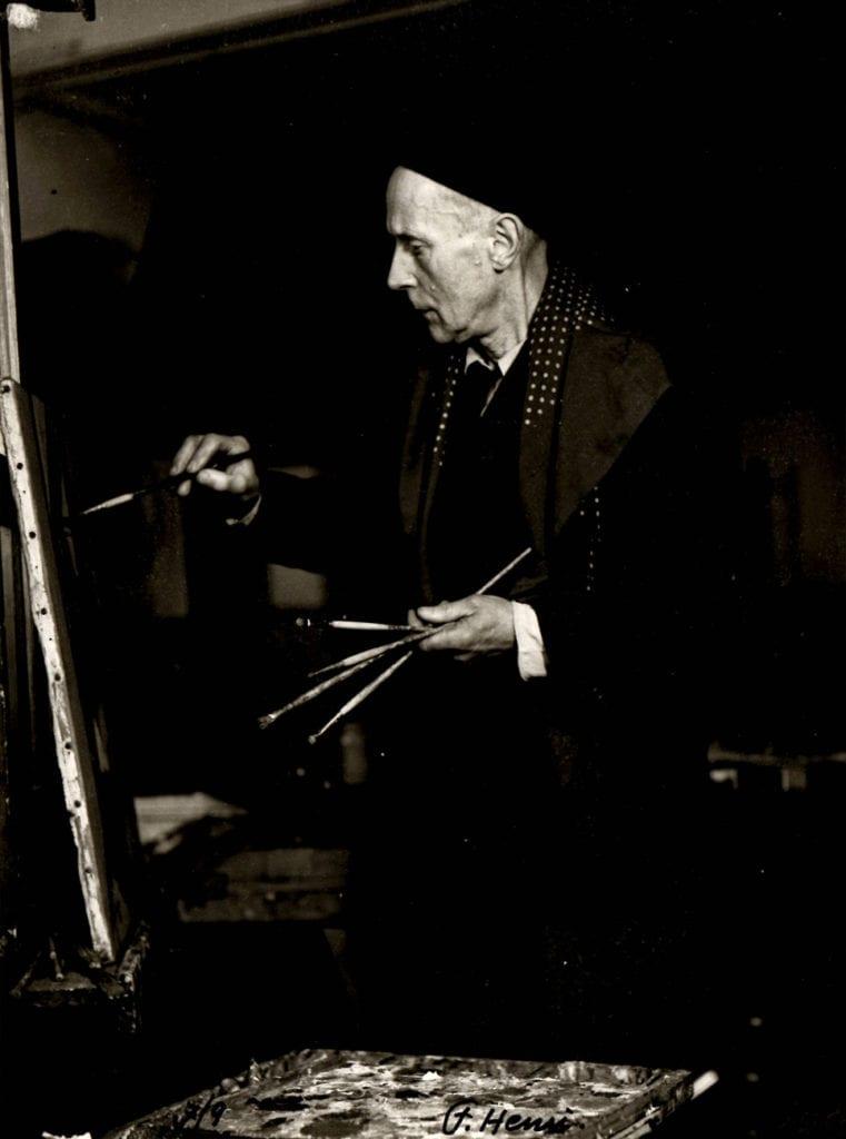 Florence Henri, Portrait de J. Villon