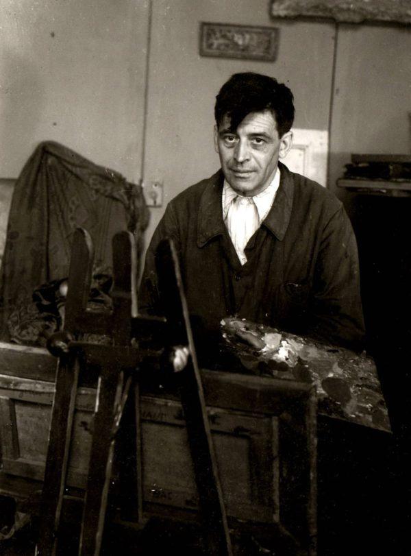 Florence Henri, Portrait de Jean Poni (Jean Pougny)