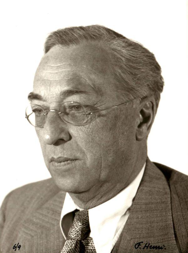 Florence Henri, Portrait de W. Kandinsky