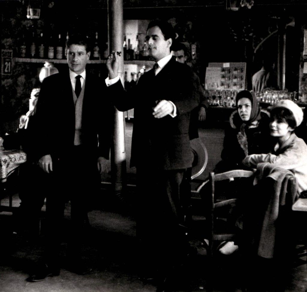 Robert Doisneau, Playing Darts in a Bar