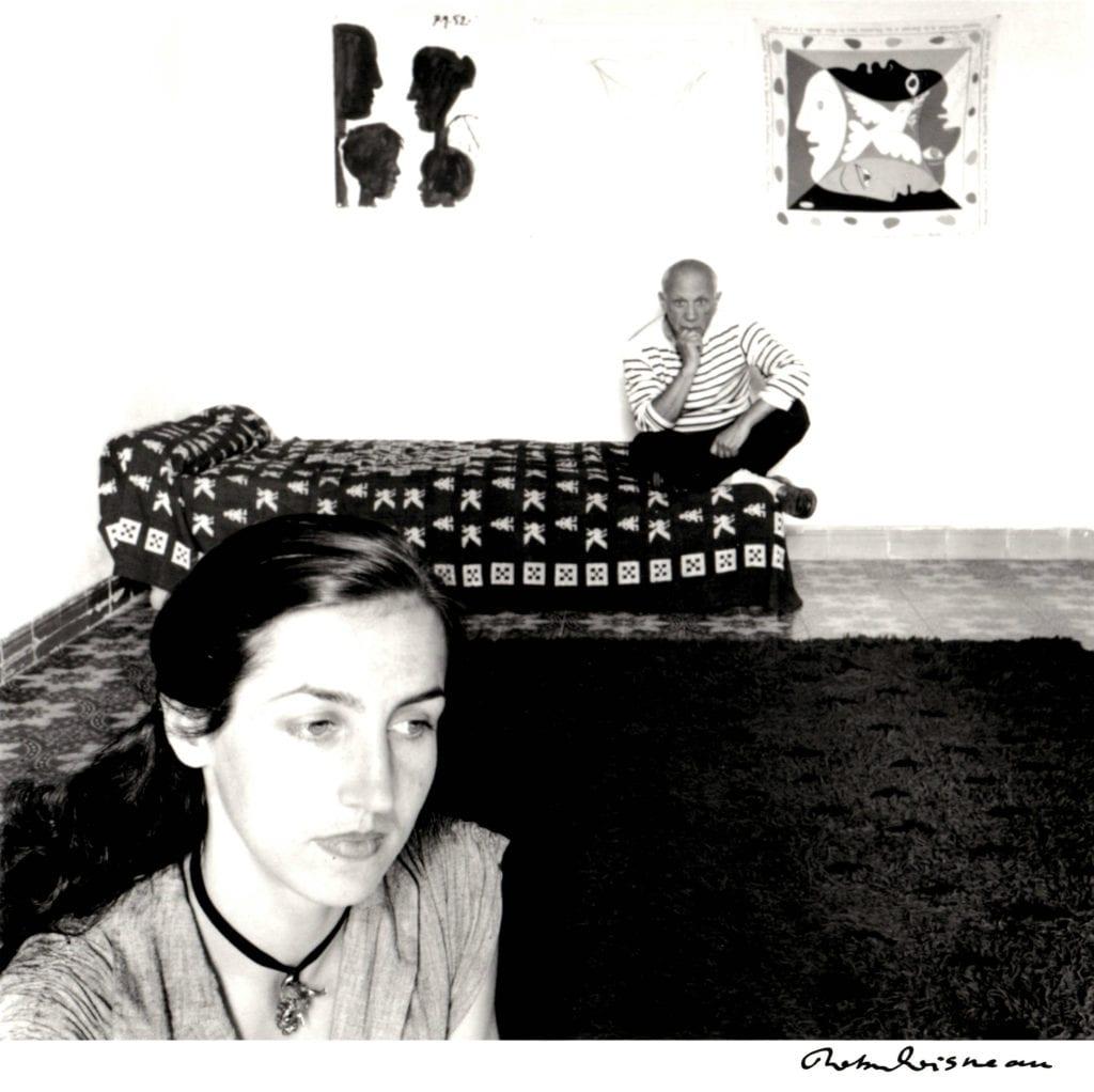 Robert Doisneau, Picasso et Françoise Gilot