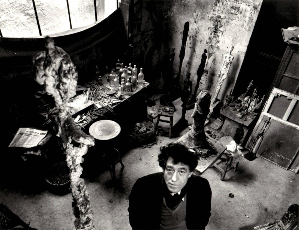 Robert Doisneau, Giacometti dans son Atelier
