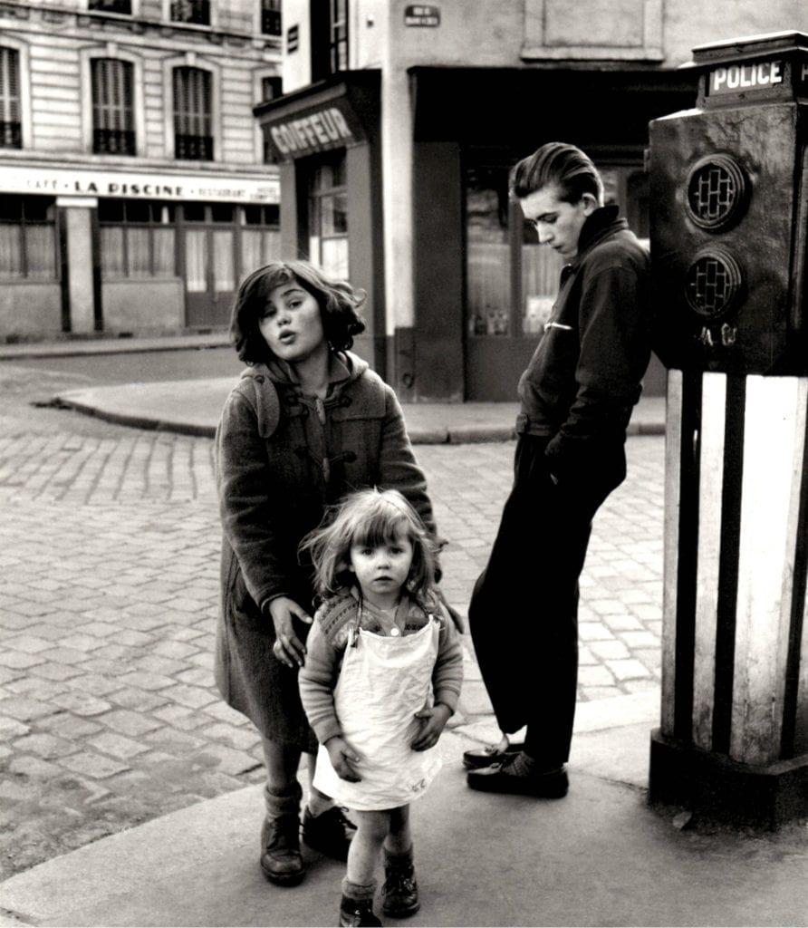 Robert Doisneau, Les Enfants de la Place Herbert