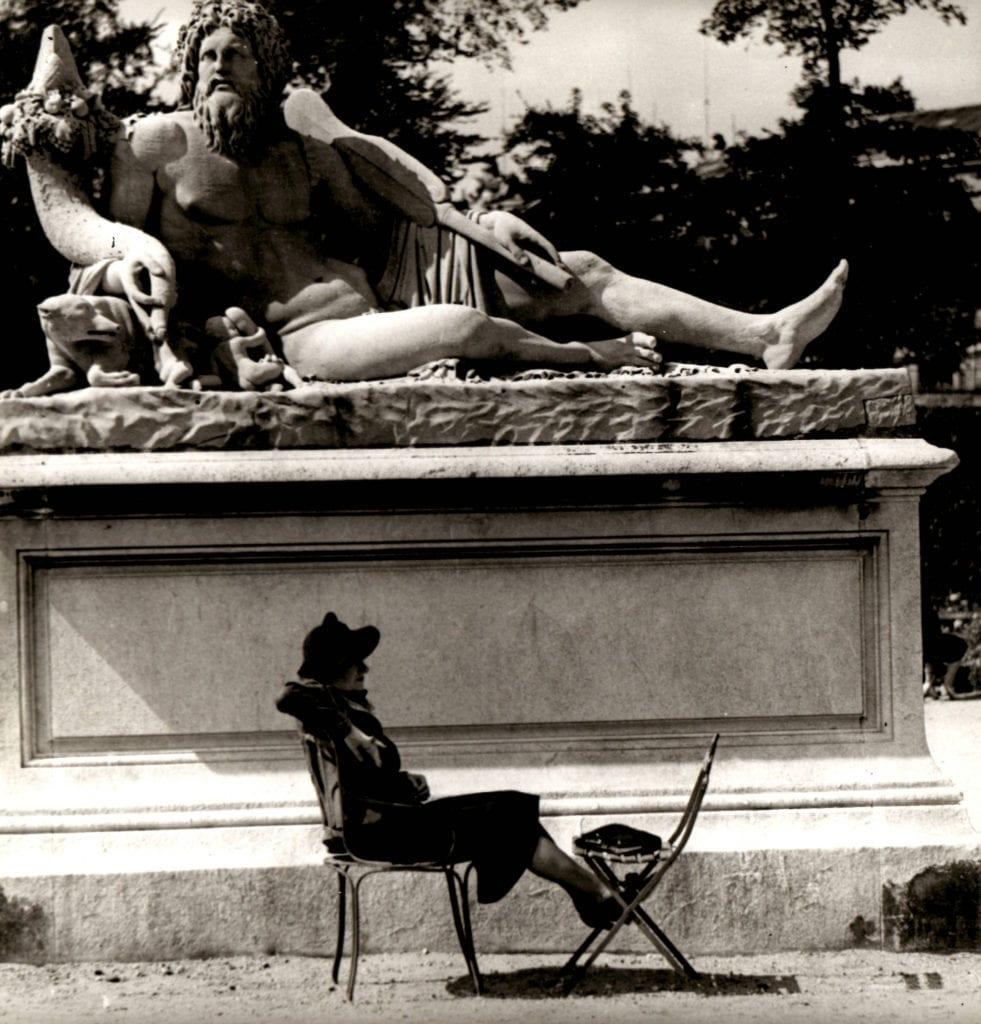 Fritz Henle, Paris - Louvre
