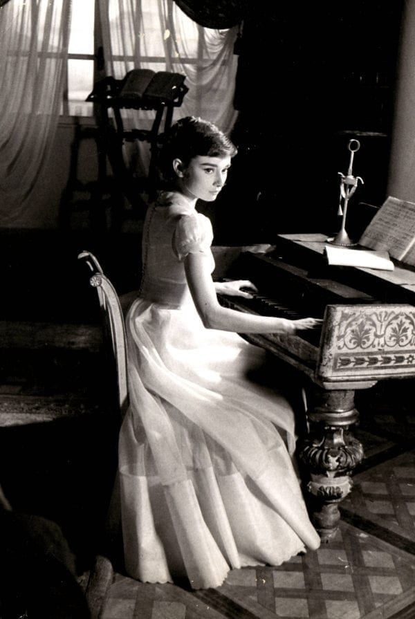 George Daniell, Audrey Hepburn in War & Peace