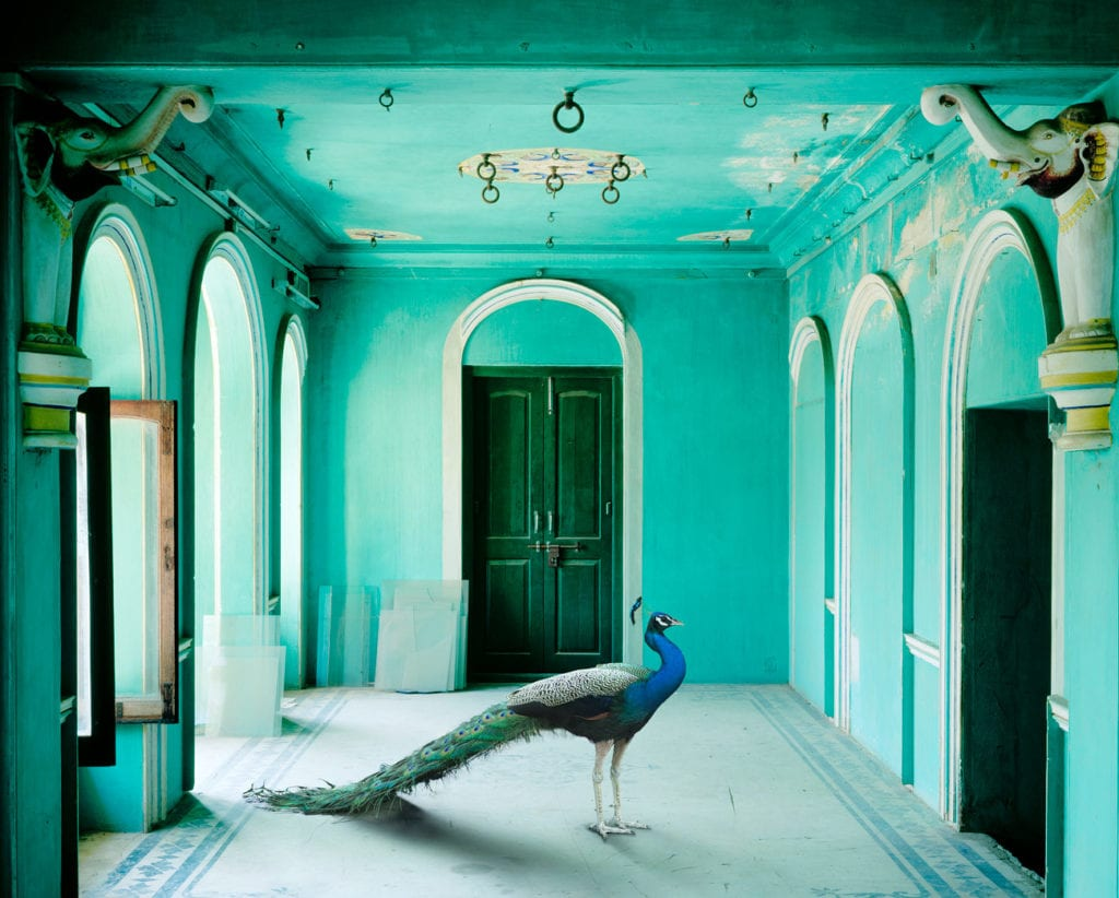 Karen Knorr, The Queen's Room, Zanana, Udaipur City Palace