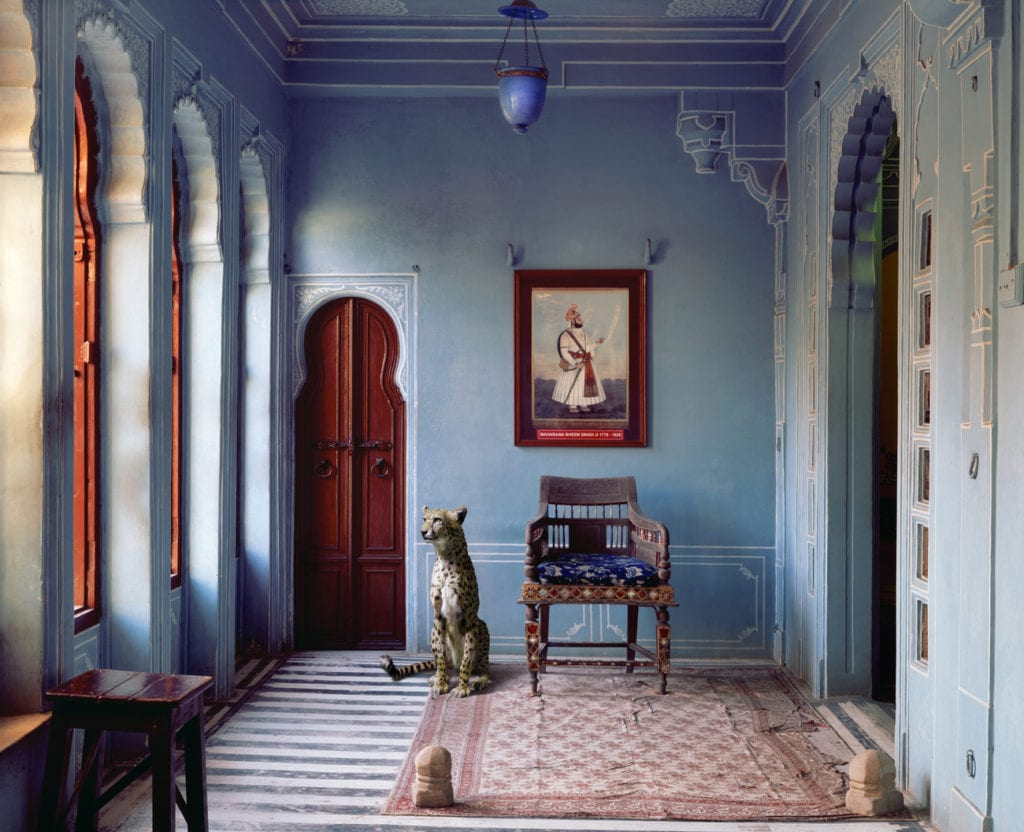 Karen Knorr, The Maharaja's Apartment, Udaipur City Palace