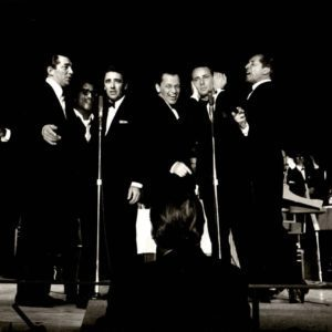Bob Willoughby, Frank Sinatra Performing with the Rat Pack at Sands Hotel, Las Vegas, Nevada, 1960