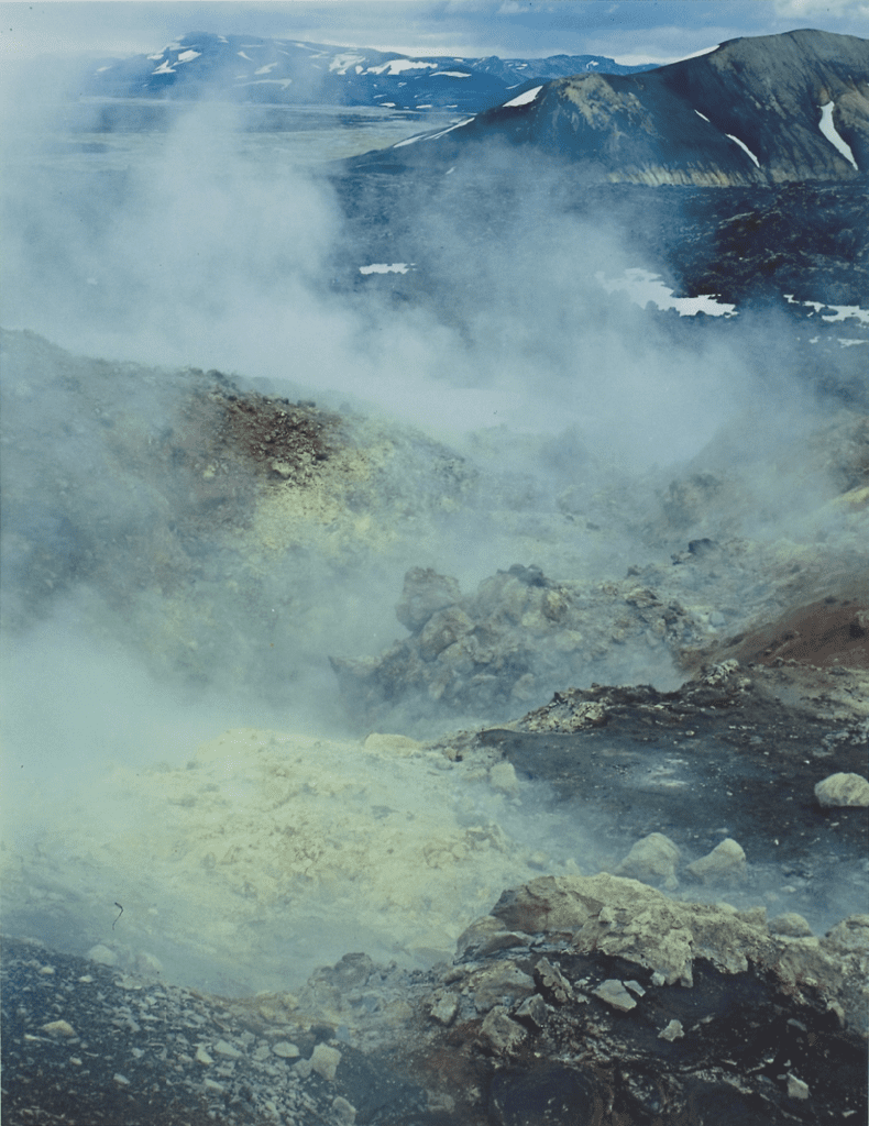 Eliot Porter, Steam Vent, Landmannalaugar