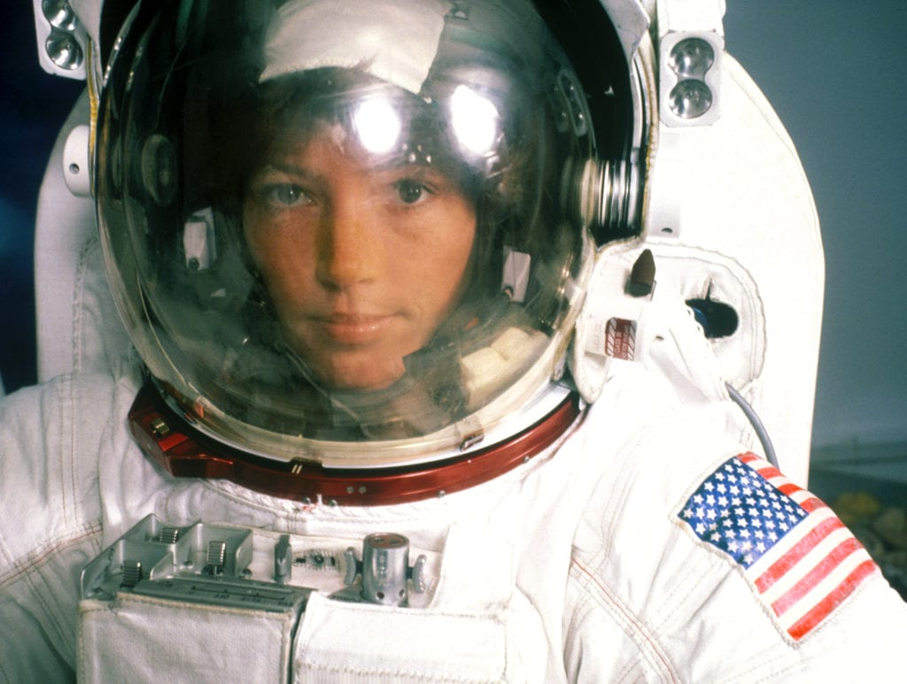 Harry Benson, Anna Fischer, Woman Astronaut, Houston