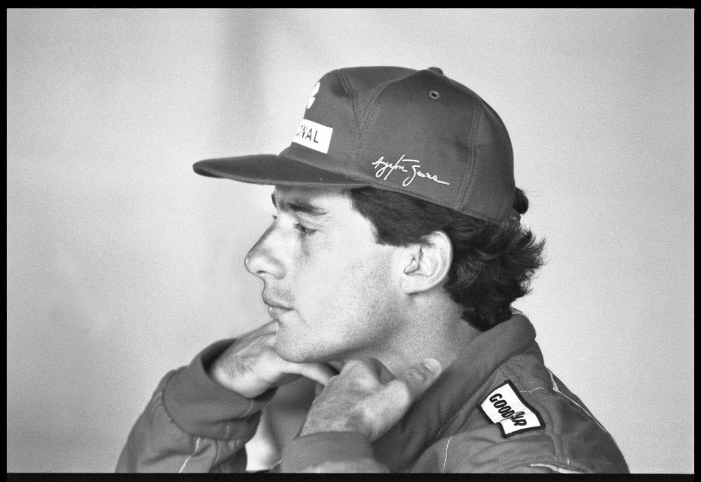 Harry Benson, Ayrton Senna, Brazil