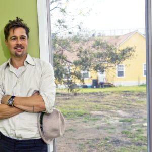 Harry Benson, Brad Pitt, New Orleans