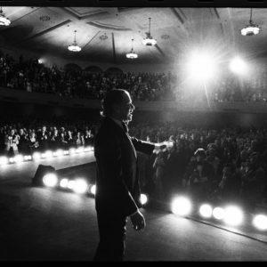 Harry Benson, Frank Sinatra, Santa Clara, CA